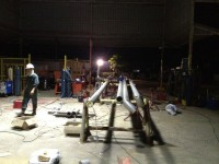crossover pipe fabrication